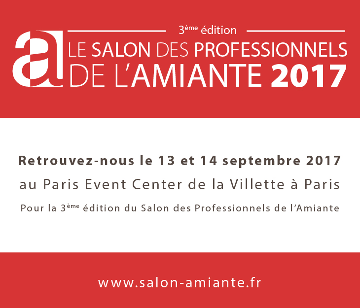 Salon des professionnels de l 39 amiante wig for Salon de l industrie 2017